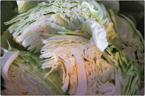 Quartered Cabbage